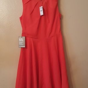 New!  Coral Express Dress - size 4